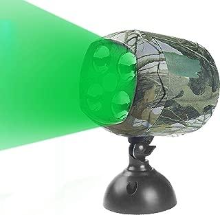 ARTITAN Feeder Light Hog Hunting Green Light Motion Sensor Spotlight Security Lights IP65 Waterproof for Outdoor Animal Game Feeder Cage