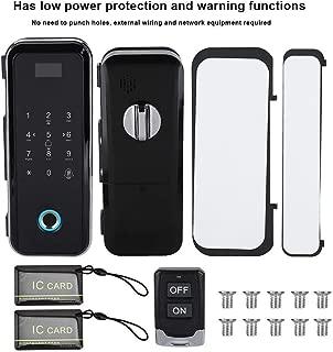 Dewin ガラスドアのスマート指紋パスワードロックリモートアクセスコントロールシステムドアロック
