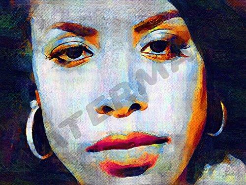 Posters-Galore Aaliyah Dana Haughton R&B Art Print Poster