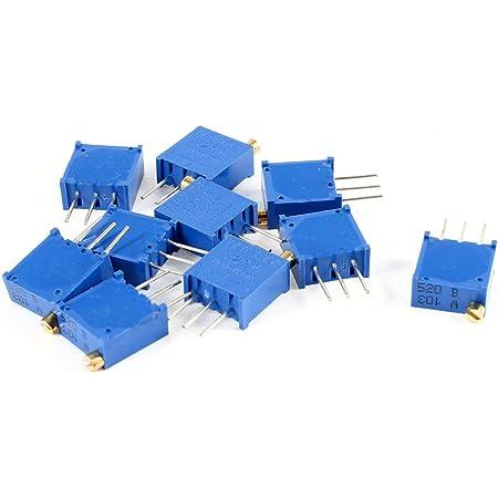 Amazon Com 3296w 103 10k Ohm Trim Pot Potenciómetro Resistencias Variables 10pcs Industrial Scientific