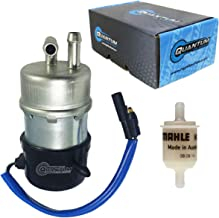 HFP-183-F Motorcycle External Inline Fuel Pump and Filter, Replacement for Honda FourTrax 350 / FourTrax Foreman 350 1986-1989