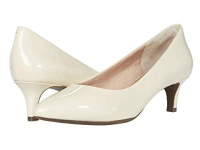 Rockport Total Motion Kalila Pump (Vanilla Patent) High Heels