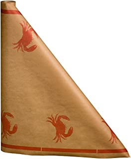 Crab Paper Table Cover, 300 ft. long x 40
