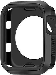 ZAALFC Cubierta del Reloj Delgada de 360 Grados para Apple Watch 4 44mm 40 mm Caso Soft Clear TPU Protector de Pantalla ...