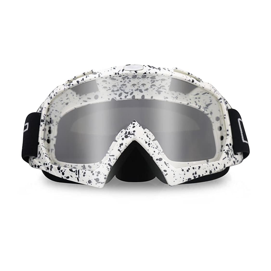 ThyWay Motorcycle Goggles, Anti UV Anti Scratch Dustproof Windproof Safety Unisex Goggles Fit for Snow Skiing, Cycling, Climbing, Riding & Outdoor zm27180504202861