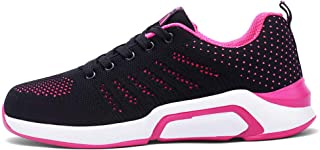 SKLT Women Running Shoes Mesh Ultra Light Casual Shoes Anti-Slip Lace Up Ladies Trainers Jogging Outdoor Breathable Sneakers