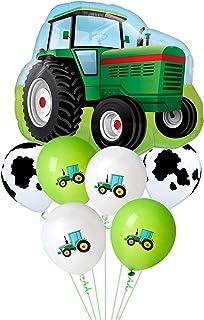 Balloon World Tractor Birthday Party Balloons Farm Animal Cow Shower Decoration Balloons