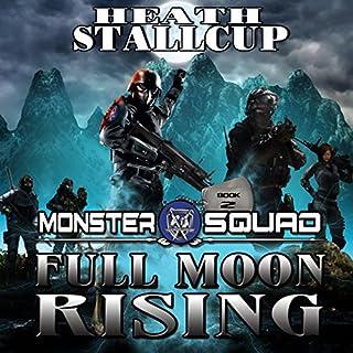 Full Moon Rising audiobook cover art