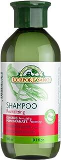 Corpore Sano Revitalizing shampoo GINSENG & POMEGRANATE-CERTIFIED ORGANIC-NO PARABENS-300 ml/10.1 fl oz