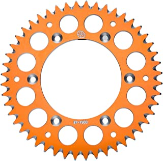 Primary Drive Rear Aluminum Sprocket 49 Tooth Orange - Fits: KTM 65 SX 2000-2019