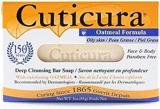 Cuticura Oatmeal Formula Deep Cleansing Bar Soap 3 OZ (Pack of 6)