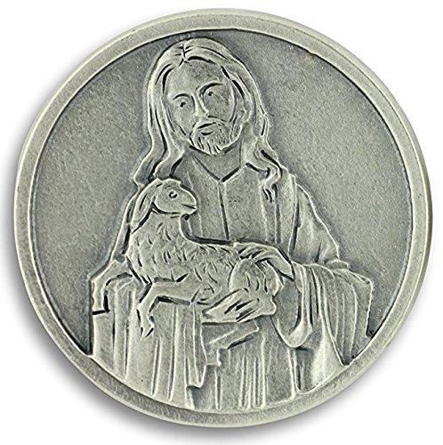 St Joseph's Catholic Giftshop on Amazon El Señor es mi Pastor Salmos 23Oración Token. Oración Moneda Bolsillo, Cartera o Bolso.