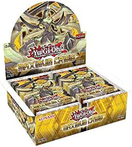 Yu Gi Oh. 14929Crisis Booster d'affichage maximale Boîte de 24Paquets