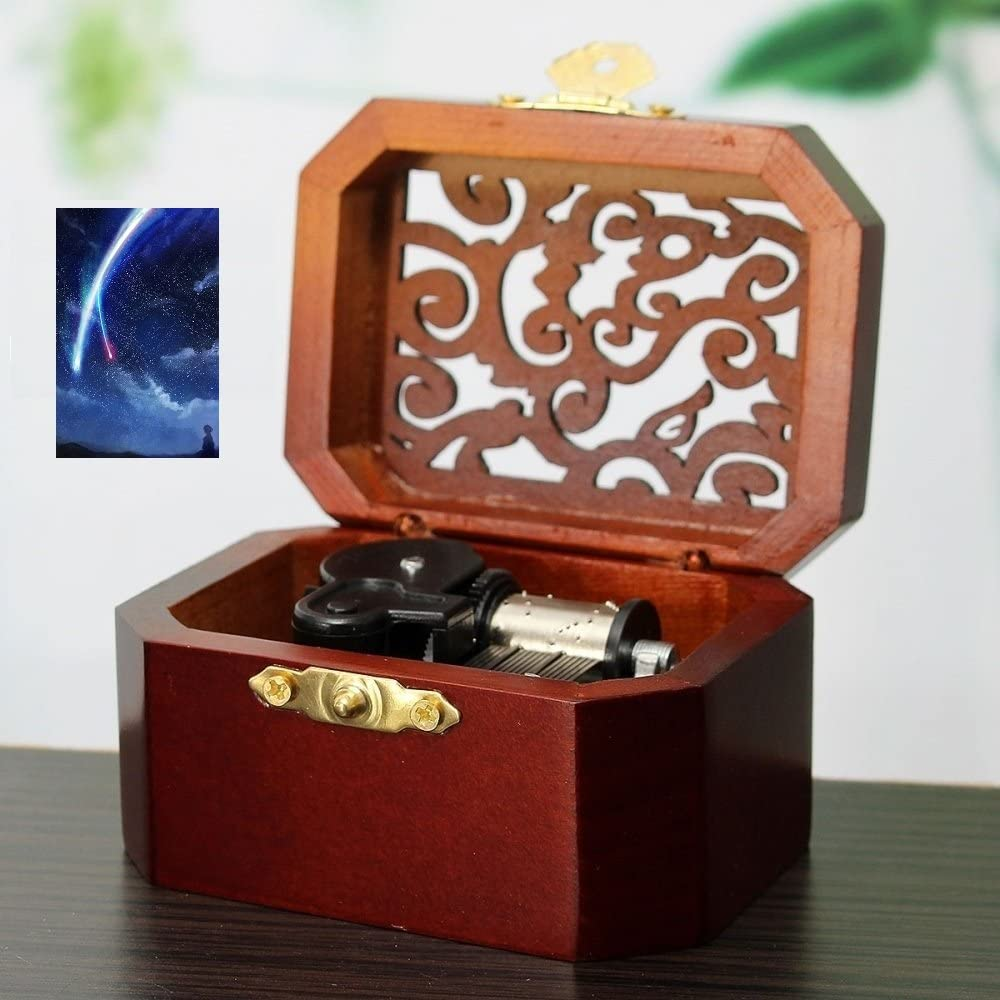 Anakin.jerry Wooden Free shipping anywhere in the nation Octagon Carving Music Musical Gifts : Zenzenz Box: