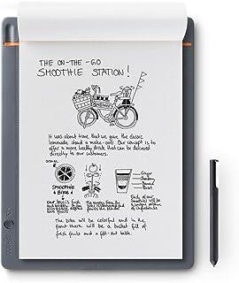 Wacom CDS-810S Bamboo Slate A4 - Cuaderno Digital para Apuntes y Dibujo, Compatible con Dispositivos iOS, Android y Window...