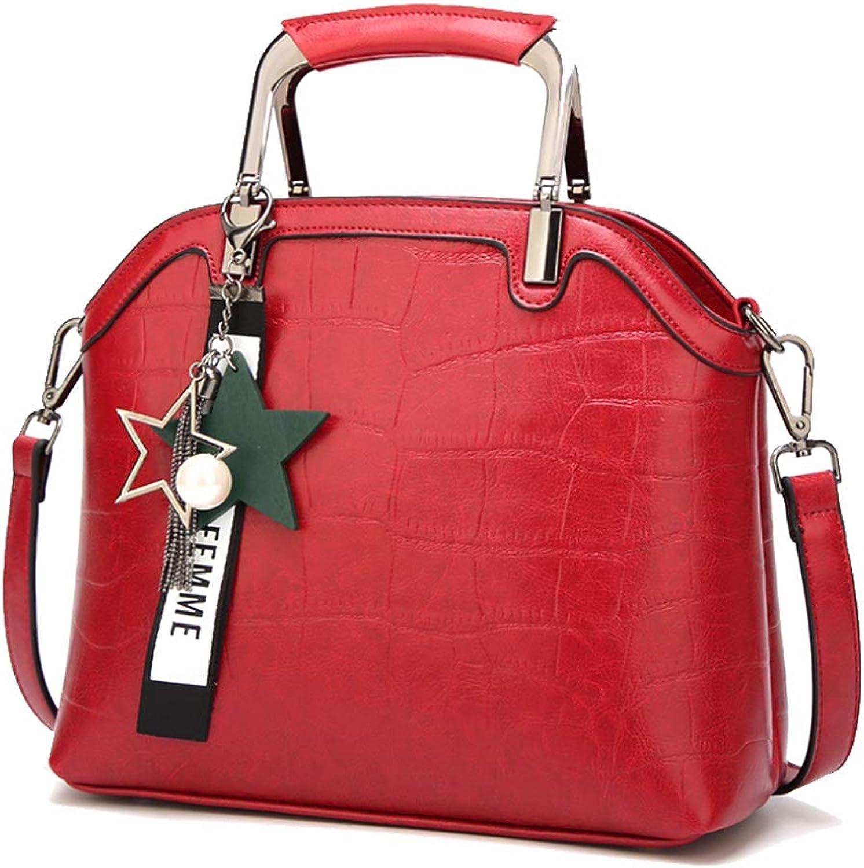 Damenhandtasche Einfache Einfache Einfache Umhängetasche Mode Wilde Diagonale Tasche Elegante Freizeit Tasche Große Kapazität Damen Tasche Arbeit Dating B07MPF25XT  Online-Verkauf 64d1e4