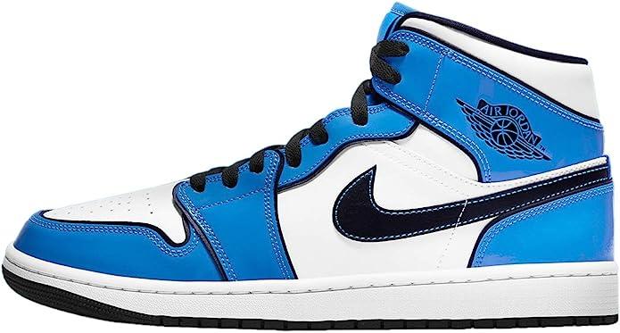 Nike Mens Air 1 Mid SE DD6834 402 Signal Blue - Size