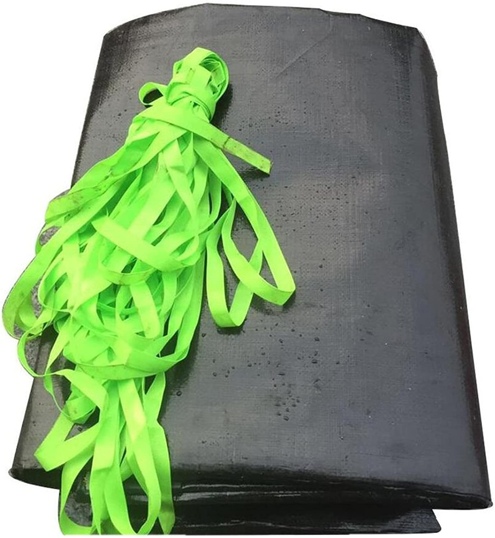 LQQGXL Black Thick Tarpaulin, Tarpaulin Horticultural Plant Sunscreen, Cargo Sunshade, Windproof, dustproof and Wearable Waterproof Tarpaulin