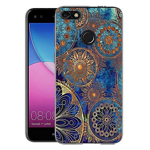FoneExpert® Huawei P9 Lite Mini / Y6 Pro 2017 Tasche, Ultra dünn TPU Gel Hülle Silikon Hülle Cover Hüllen Schutzhülle Für Huawei P9 Lite Mini / Y6 Pro 2017
