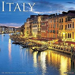 2016 Italy Wall Calendar