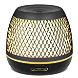 InnoGear 500ml Aromatherapy Essential Oil Diffuser with Iron Cover Ultrasonic Diffuser Classic Stlye...