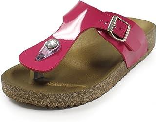 H2K 'VERKIN Junior' Kids Fashion Flip Flops Comfort Slip-On Slide Sandal Shoes for Boys & Girls