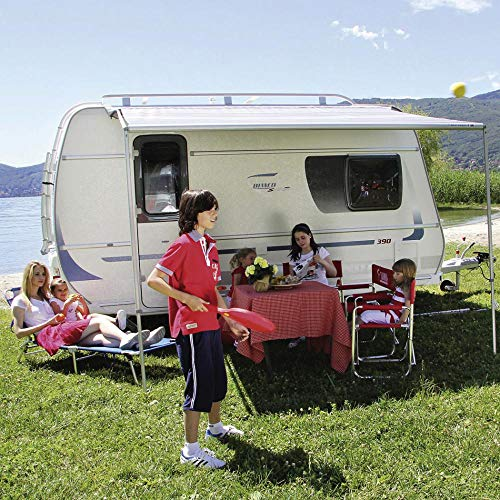 Fiamma Toldo para Caravana, protección Solar, Caravana, Camping, vehículo, protección Visual, Azul Real, 440