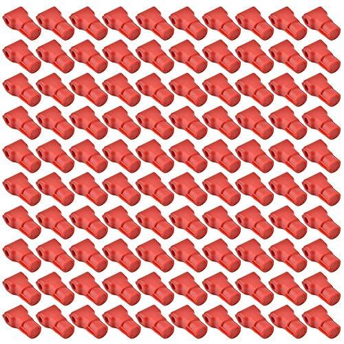 100 piezas Teléfono Móvil Anti-Robo Bloqueo de Gancho Artículos de la Tienda al por Menor Bloqueo Rojo Uso de un...