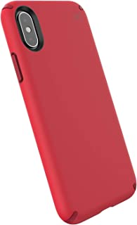 Speck Products Presidio Pro iPhone Xs/iPhone X Case, Heartrate Red/Vermillion Red