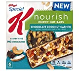 Kellogg's Special K Nourish Chewy Nut Bars Chocolate Coconut Cashew, pack of 1