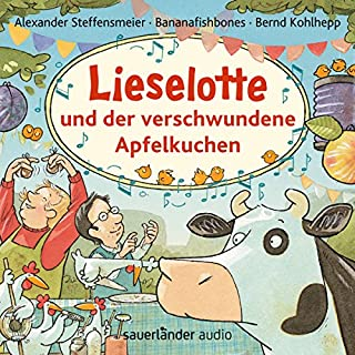 Lieselotte und der verschwundene Apfelkuchen                   Autor:                                                                                                                                 Alexander Steffensmeier                               Sprecher:                                                                                                                                 Bernd Kohlhepp                      Spieldauer: 50 Min.     27 Bewertungen     Gesamt 4,7