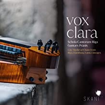Vox Clara. Late Medieval Chant From Riga, Hamburg, Lund, Limoges