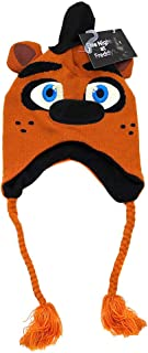 Bioworld Five Nights at Freddy's Big Face Laplander Beanie,Brown,One Size