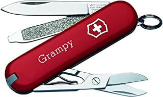 Personalized Red Classic SD Swiss Army Knife by Victorinox