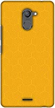 AMZER Slim Designer Snap On Hard Shell Case Back Cover for Infinix Hot 4 Pro - Intersections 5