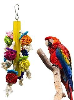 DealMux, Speelgoed voor papegaaien, accessoires voor vogelkooien, vogelspeelgoed, speelgoed voor papegaaien, vogels, speel...