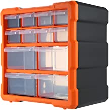 Duotar Gaveta Caixa de Armazenamento de Peças de Compartimentos Múltiplos Compartimentos Caixa de Hardware Organizador Fer...