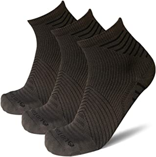 AUDTOPEM Men's Ankle Compression Running Socks (3 Pairs)
