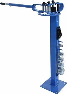 Erie Tools Pedestal Floor Compact Bender Bending Metal Fabrication Tube Pipe Rod 7 Dies