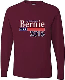 Adult Bernie Sanders for President 2016 Long Sleeve T-Shirt