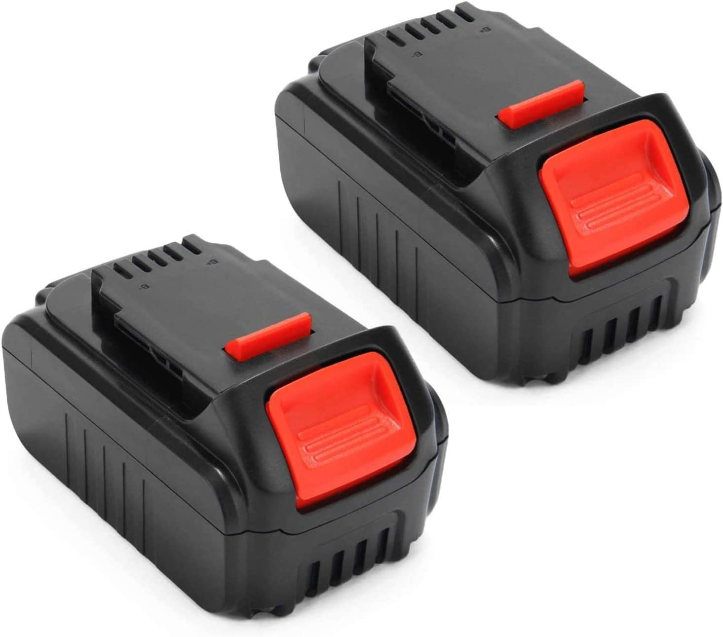 Exmate 2Pack 20V 国産品 2500mAh Li-ion w 最安値 Battery Compatible Replacement