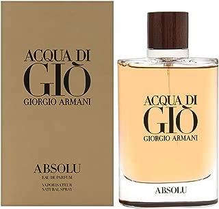 Acqua di Giò Absolu Eau de Parfum Spray, Men, 4.2 Fluid Ounce