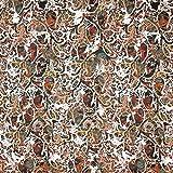 Fabulous Fabrics Jersey braun, Pflanze, 148cm breit –