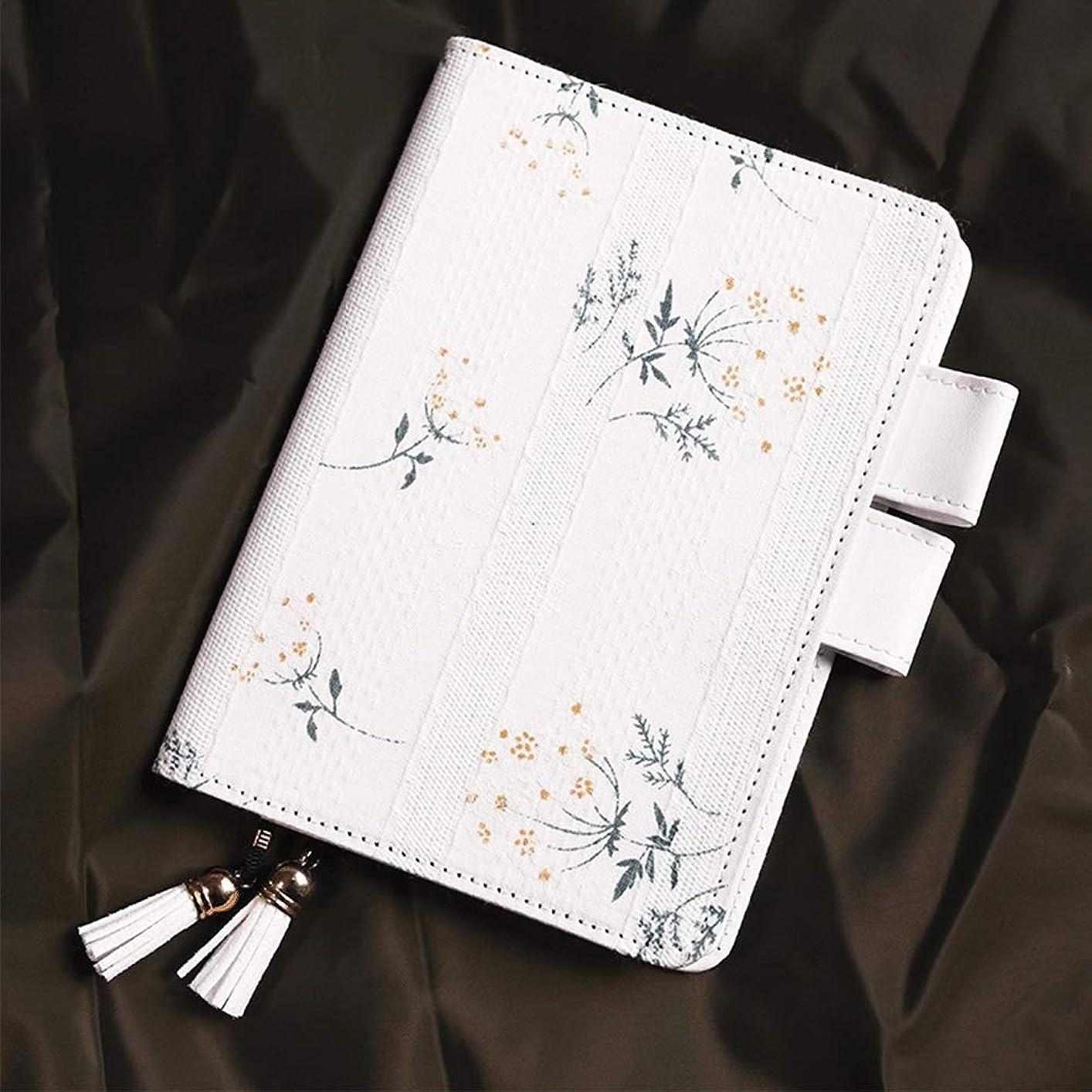 A6ノートブック花生地ジャーナルレザーハンドブックシンプルなメモ帳ファインアート日記 Blingstars