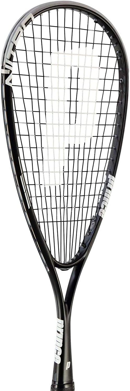 Prince Nitro Pro Squash Racket Mens Black Indoor Sports Racquet