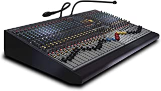 Allen & Heath GL2400/16 16-Channel Professional Mixer with 6 Auxiliary Sends, 4 Band Equalizer, and 7 x 4 Matrix
