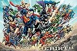 DC Comics Wiedergeburt, Maxi Poster, verschiedene, 61x