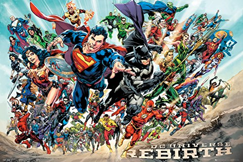 DC Comics Wiedergeburt, Maxi Poster, verschiedene, 61x 91,5cm