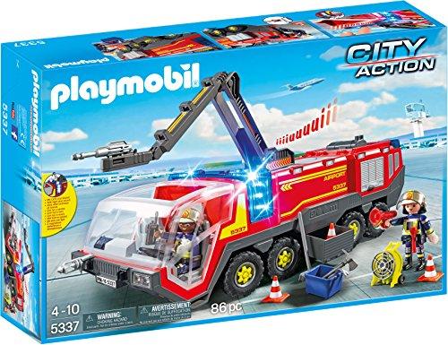 PLAYMOBIL City Action Camión Bomberos Aeropuerto