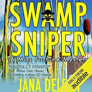 Swamp Sniper audiobook cover art